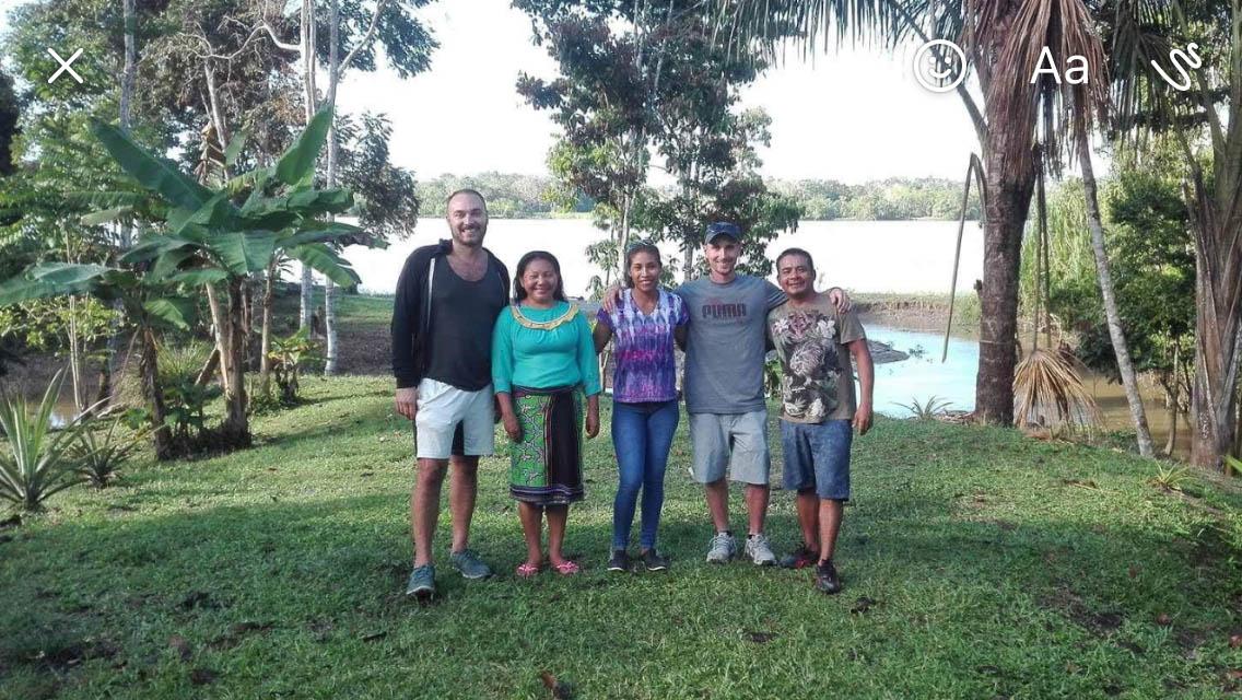 Ayahuasca Trip Photos – A Spiritual Hand